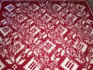 Corner-to-Corner Snowflake Afghan Wrong Side