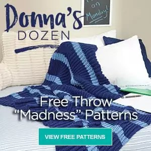 Donna's Dozen Free Throw Madness Patterns by Red Heart