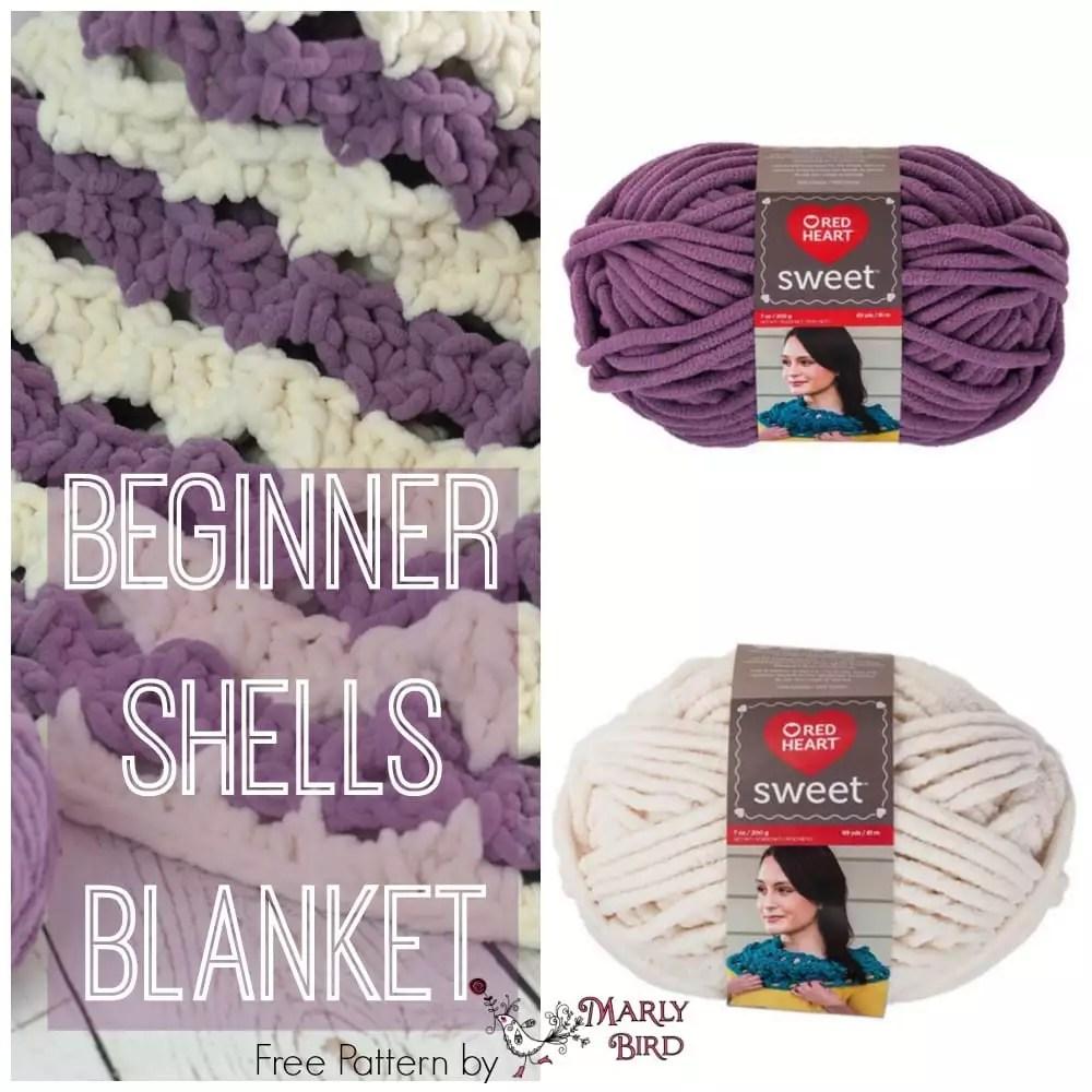 Beginner Shells Blanket