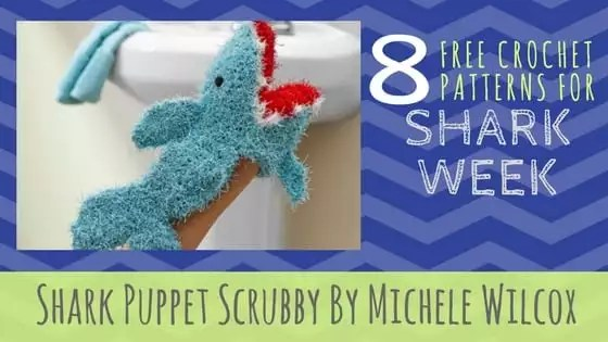 Shark Puppet Scrubby By Michele Wilcox