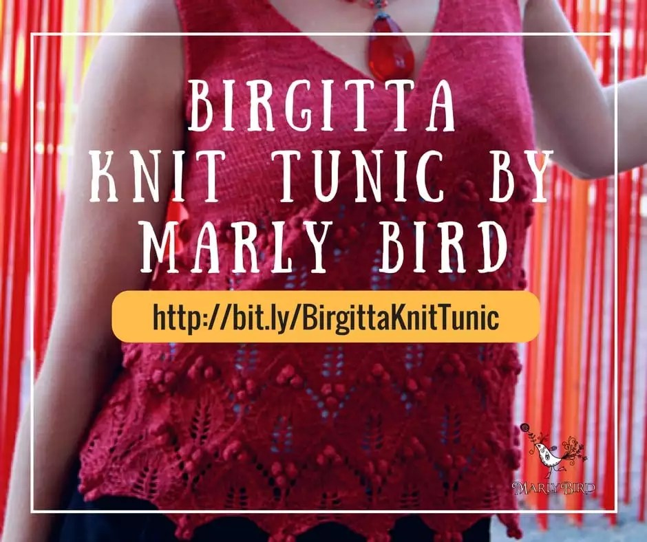 Birgitta, a Knit Tunic Perfect for Layering