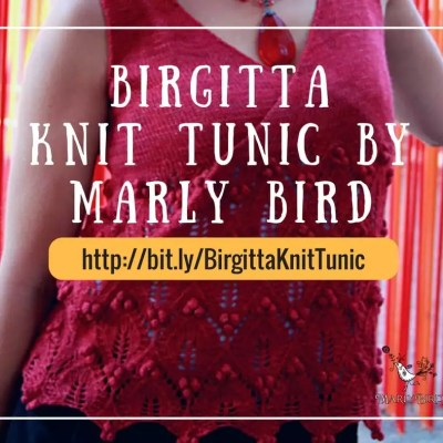 Birgitta, a Knit Tunic Perfect for Layering