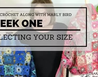 Marly Bird Granny Square Motif Cardigan Choose a Size