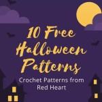 10 Free Crochet Halloween Patterns