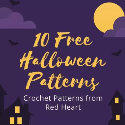 10 Free Crochet Halloween Patterns