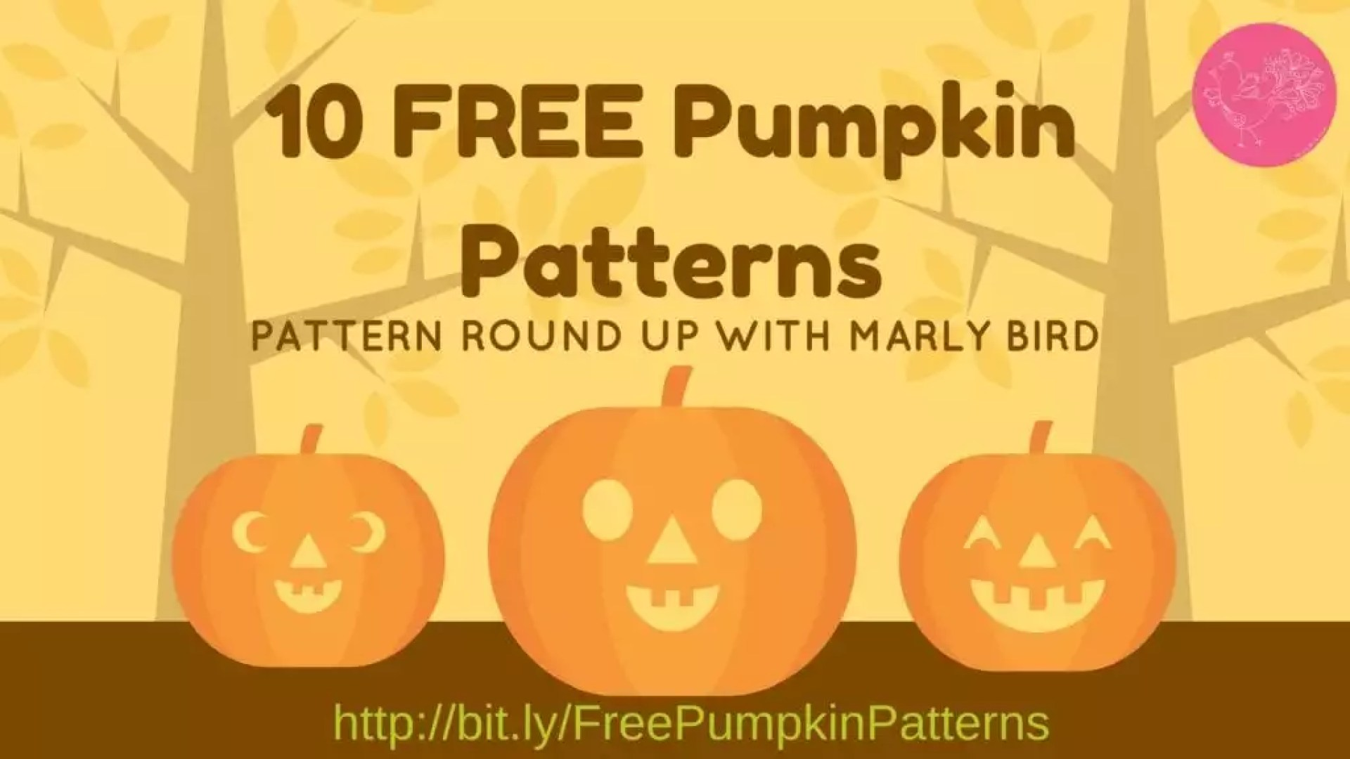 10 FREE Pumpkin Patterns