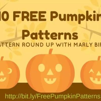 10 FREE Pumpkin Patterns to Knit or Crochet