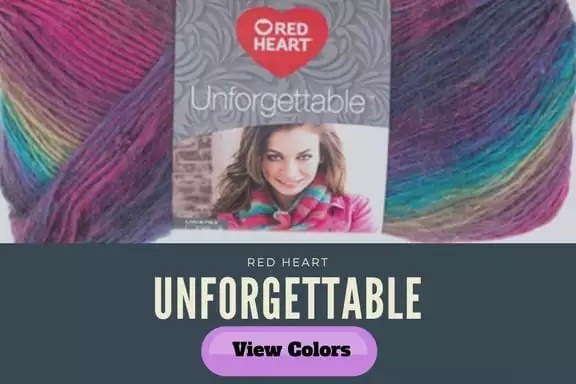 Red Heart Unforgettable Yarn