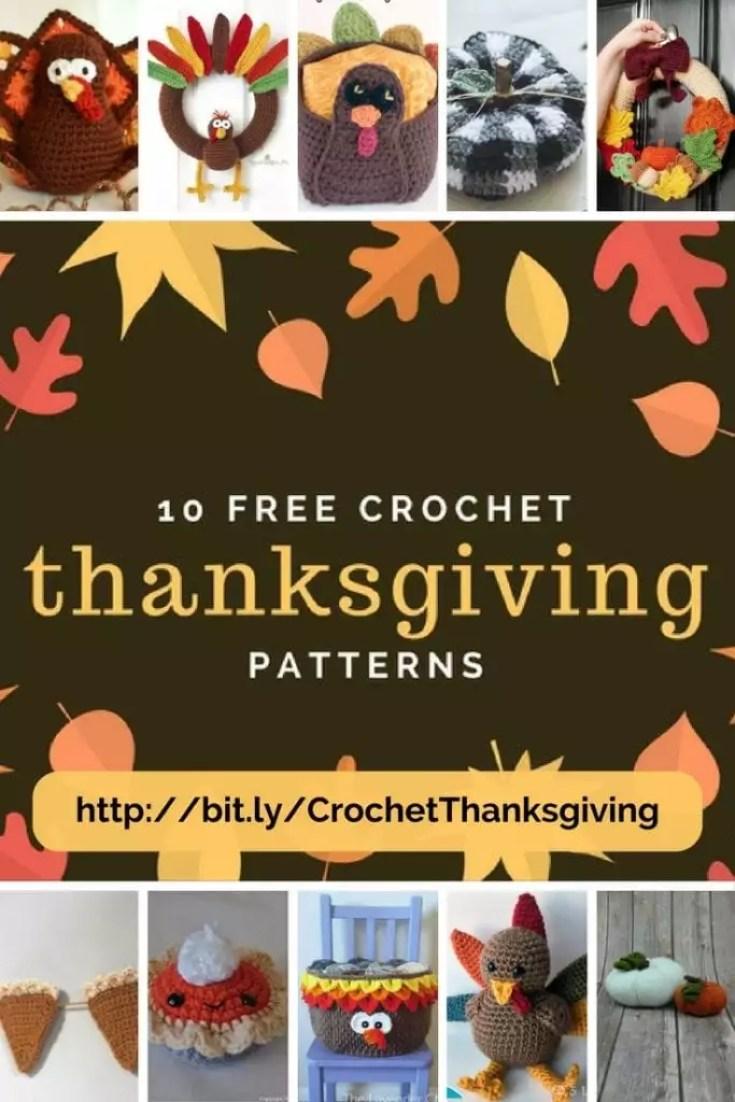 10 Free Crochet Thanksgiving Patterns