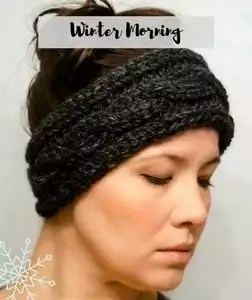Free Knit and Crochet Winter Fun Patterns-Winter Morning