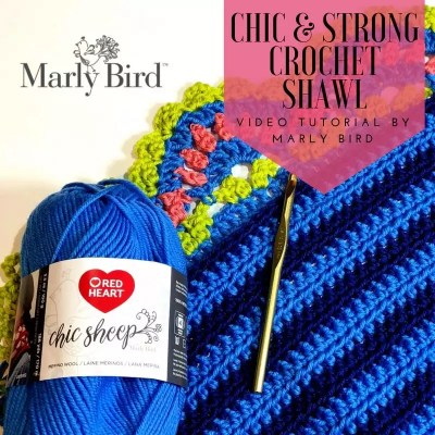 Crochet Video Tutorial How to Crochet the Chic and Strong Crochet Shawl