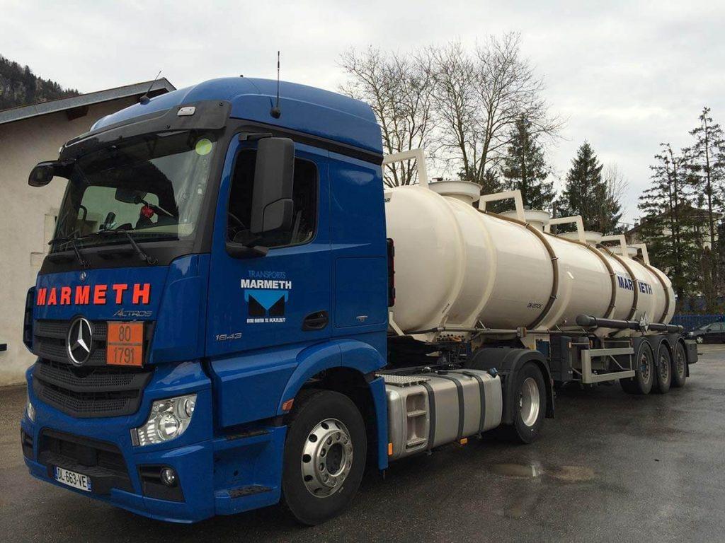 Transports Marmeth Conteneur Citerne Revtue