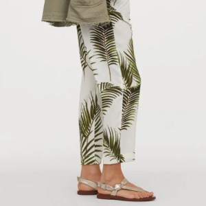pantalon jungle hm concious 300x300 - Ma sélection shopping estivale - dentelle, osier & coquillage