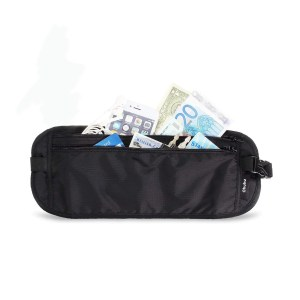 pochette ceinture voyage noire marmille 300x300 - Voyage en Inde à Goa - les préparatifs pour partir seule en sac à dos