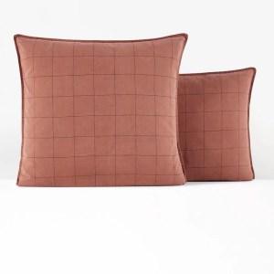 oreiller rouille brique la redoute marmille 300x300 - Ma sélection shopping pour commencer l'année en douceur