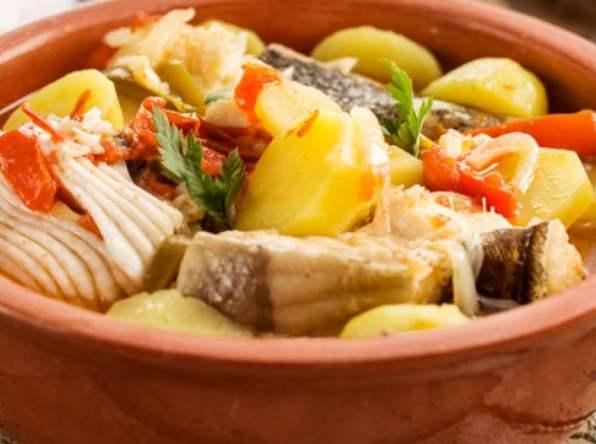 Caldeirada de Peixe bouillabaisse portugaise