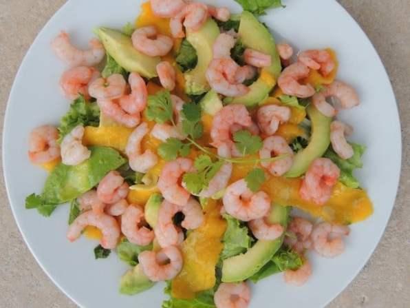 salade avocat crevettes facile