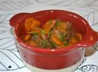 boeuf carottes recette gourmande