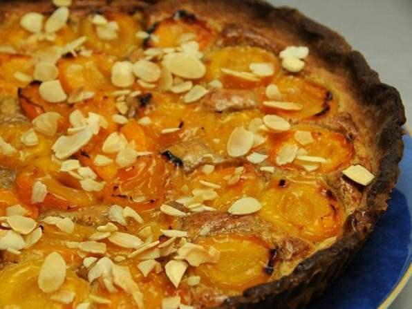 tarte aux abricots amandes