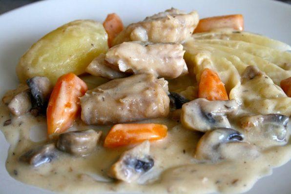 blanquette de poissons cabillaud lotte carottes