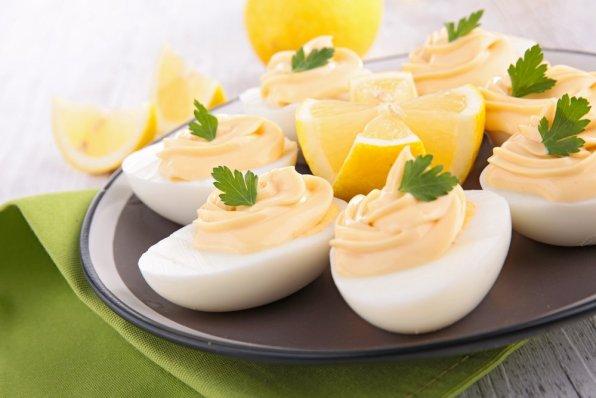 œufs mimosa