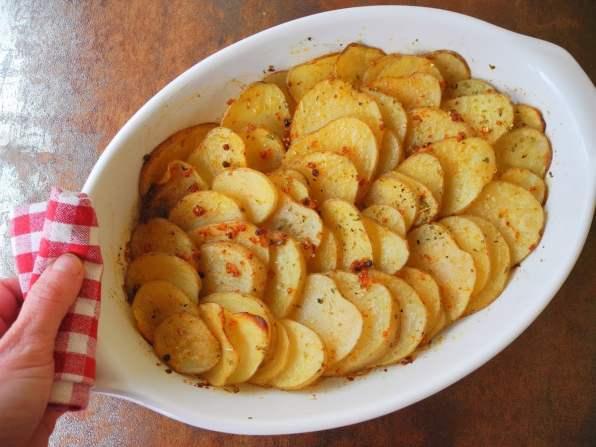 pommes de terre sautees aux herbes