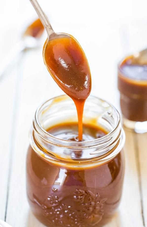 caramel au beurre sale facile recette