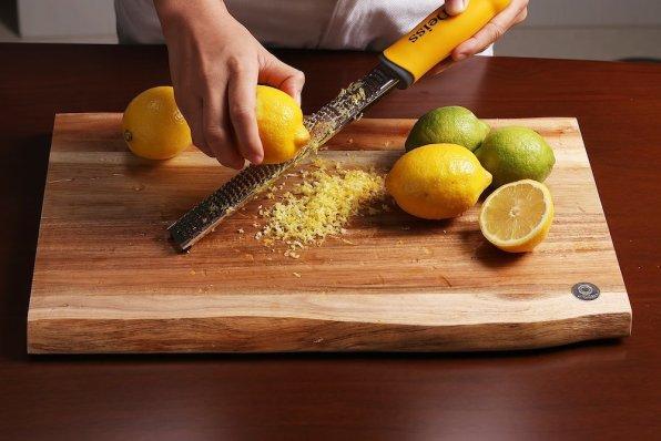 Thon a la creole zesteur citron
