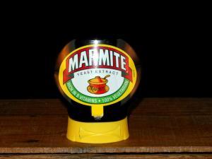 200g Squeezy Marmite Jars (Close-up)