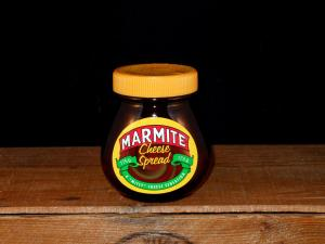 The South African Marmite Cheese Spread (close up)