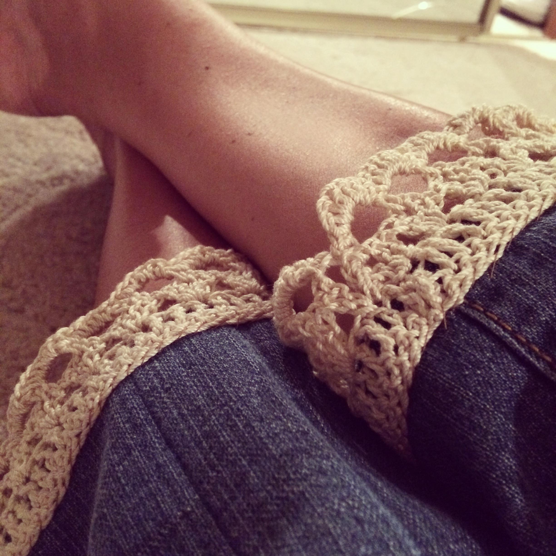 Crochet Border Capris