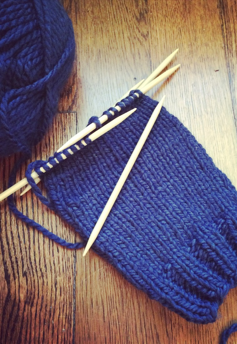 How I fell in love with knitting