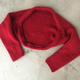 knitted shrug made by marni