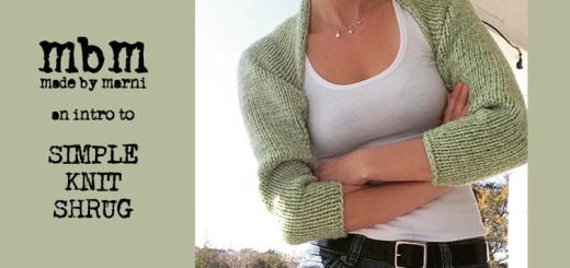 Simple Knit Shrug