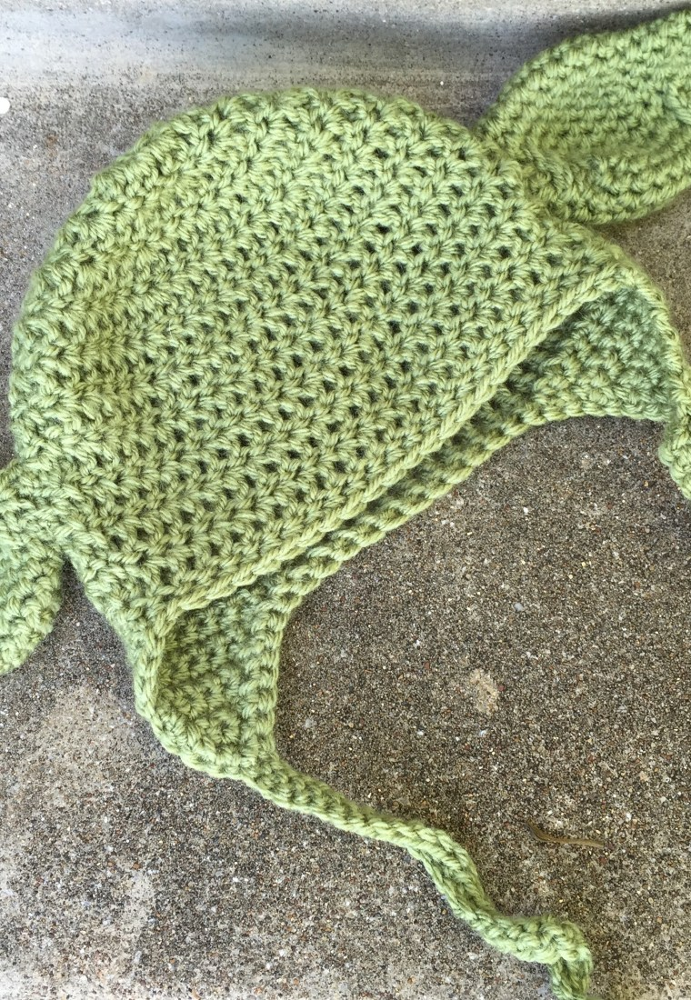 Baby Yoda Hat Crochet Pattern