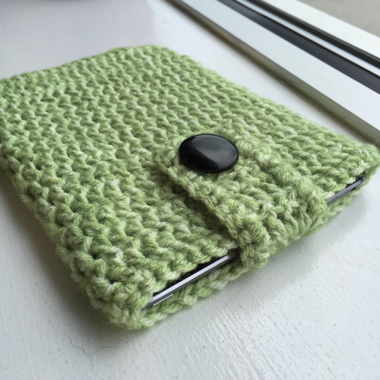 Easy Crocheted iPad Cozy