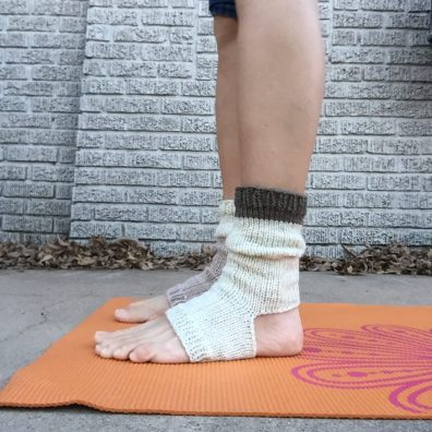 Grab the mat while your ankles stay warm
