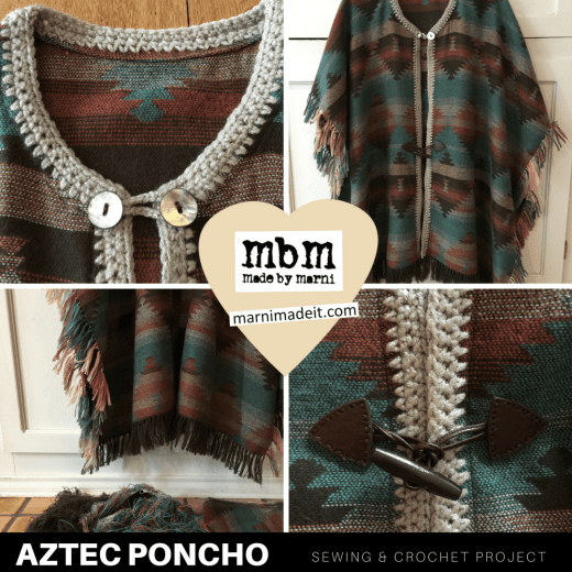 Aztec Poncho Free Pattern