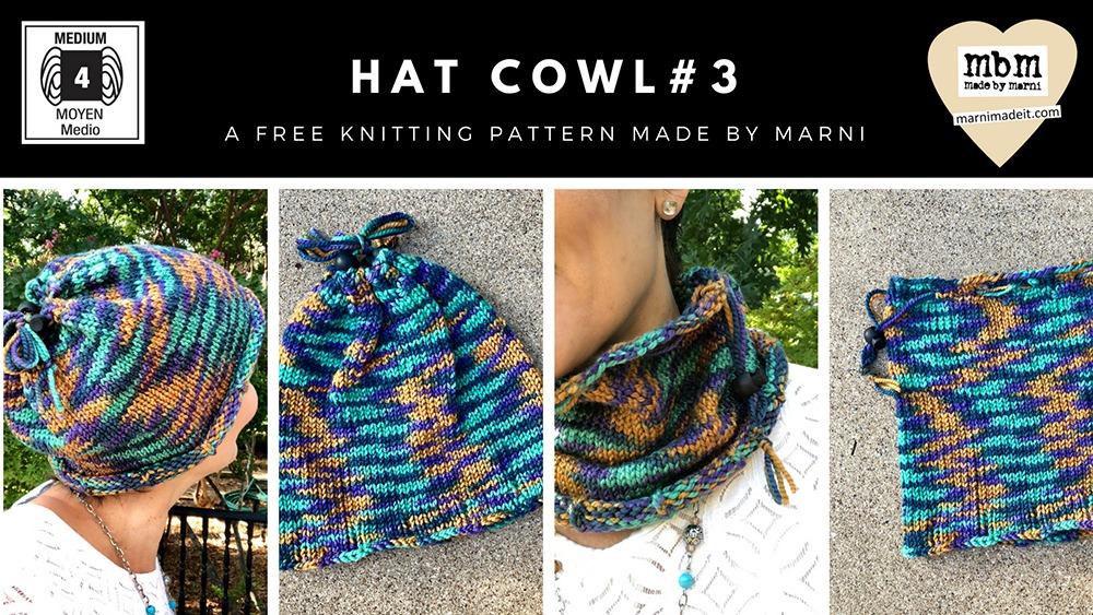 Knitologie Bouncy Yarn Hat Cowl