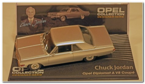 Opel Designer Collection Diplomat Coupe V8