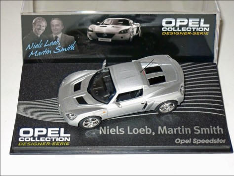 Eaglemoss Niels Loeb Martin Smith OPel Speedster