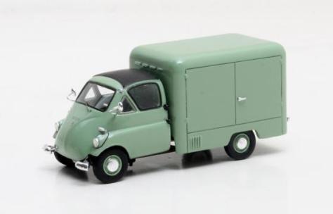MX30905-022 ISO IsettaCarro Furgon green 1957