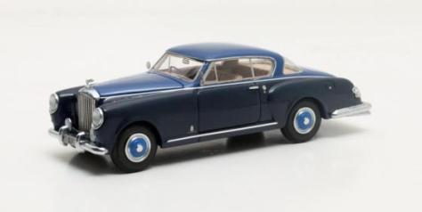 MX40201-091 Bentley MkVI Pininfarina Coupe blue and blue 1952