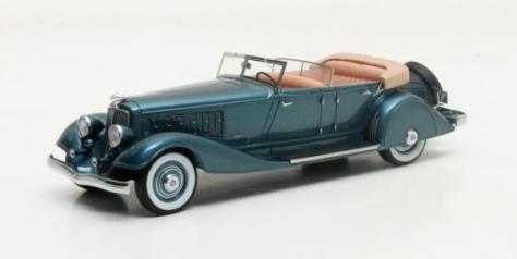 MX50303-021 Chrysler Imperial Custom Five-Passenger Phaeton #7803657 green metallic 1933
