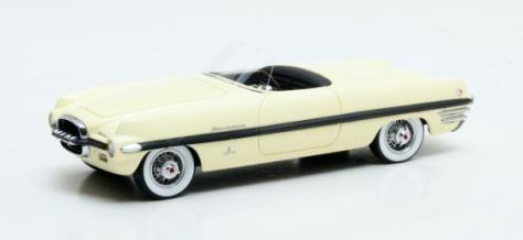 Dodge Firearrow II Concept Ghia Exner yellow 1954