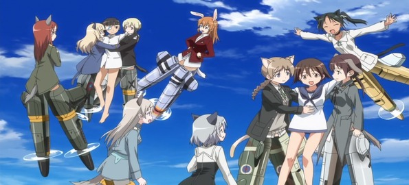 Image result for strike witches season 2