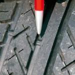 Indicadores de desgaste del neumático