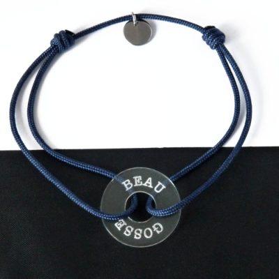 Bracelet homme personnalisé Angelo