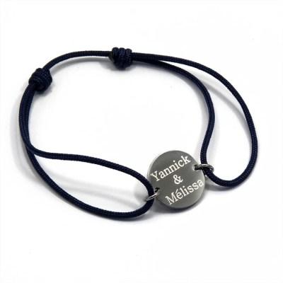 Bracelet homme personnalisé Anais