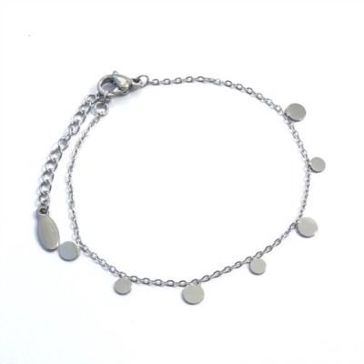 Bracelet ronds en acier inoxydable
